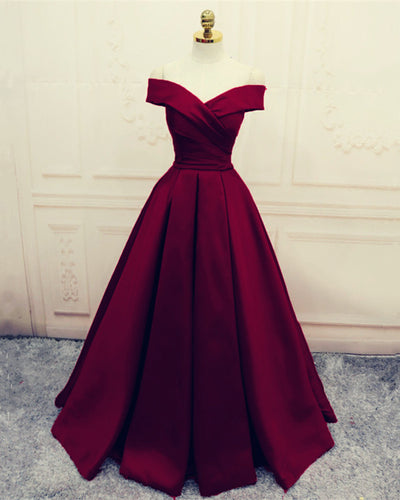 Evening-Dresses-Burgundy