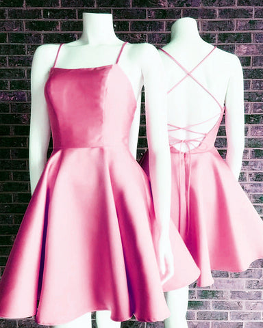 Image of Pink Homecoming Dresses 2019
