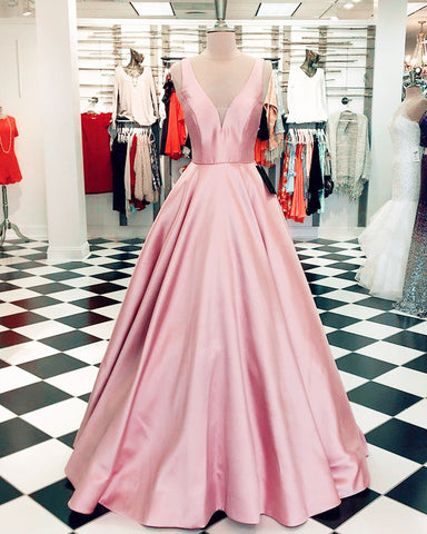 Image of Pink-Prom-Ballgown-Dresses