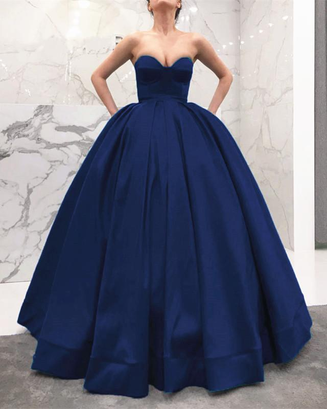 Navy-Blue-Wedding-Dress