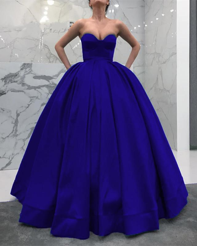 Royal-Blue-Wedding-Dress