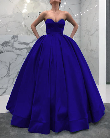 Image of Royal-Blue-Wedding-Dresses