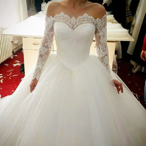 Image of romantic-wedding-gowns