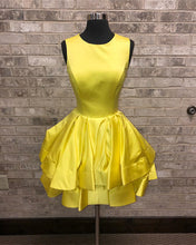Load image into Gallery viewer, Yellow-Homecoming-Dresses