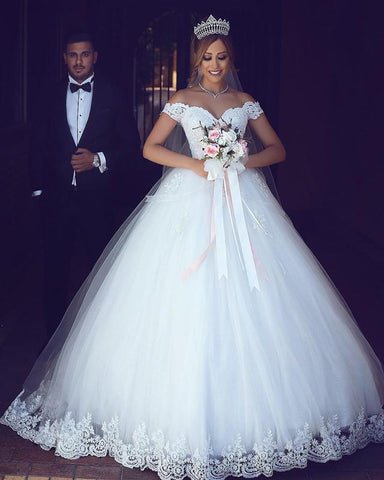Image of Ball-Gown-Wedding-Dresses