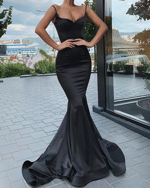 Black Mermaid Prom Dresses 2020