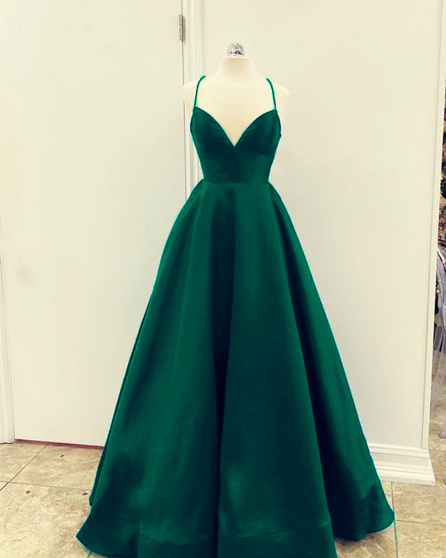 Green Prom Dresses 2020 Long
