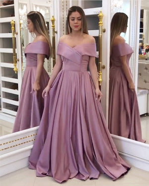 Dusty Pink Prom Dresses 2020