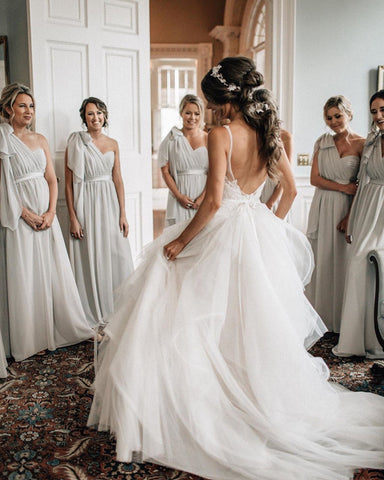 Open Back Wedding Dress 2020