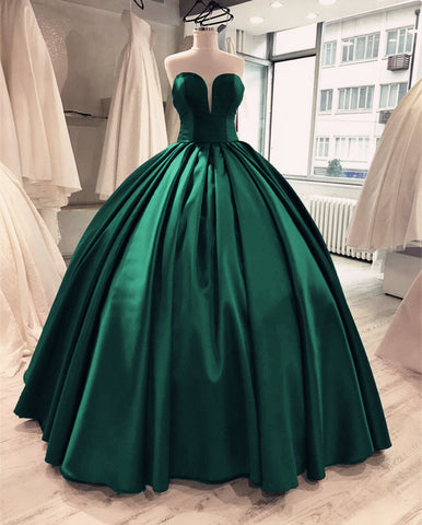 Image of Emerald-Green-Quinceanera-Dresses