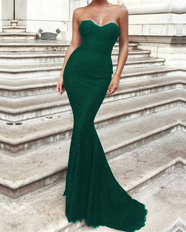 Image of Emerald-Green-Formal-Gowns