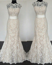 Load image into Gallery viewer, Lace Mermaid Wedding Dresses 2020