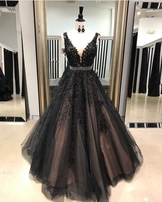 Black-Quinceanera-Dresses