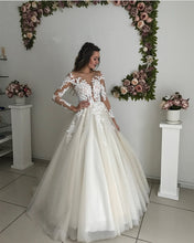 Load image into Gallery viewer, Wedding-Dresses-Ivory