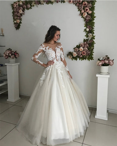 Image of Wedding-Dresses-Ivory
