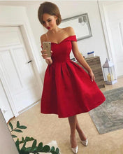 Load image into Gallery viewer, Red-Cocktail-Dresses