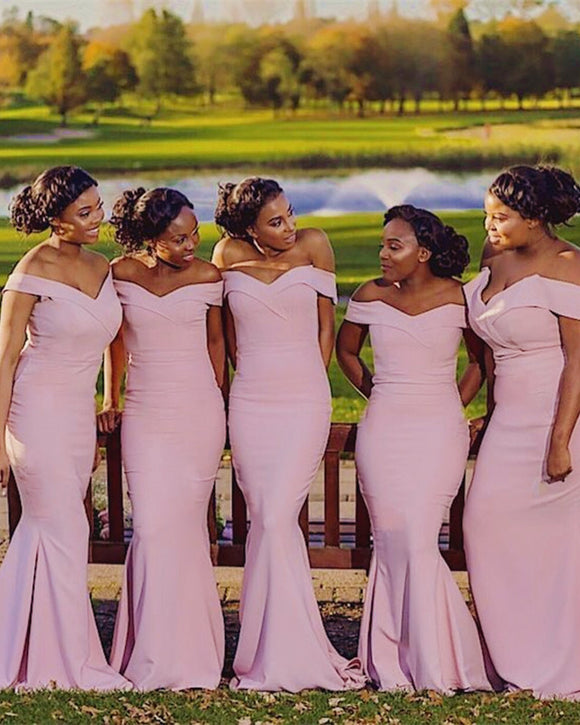 Bridesmaid-Dresses-Off-Shoulder