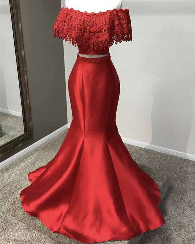 Red-Formal-Party-Dresses-Off-Shoulder-Evening-Gowns
