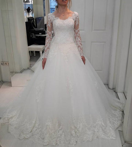 Image of Lace-Wedding-Gowns