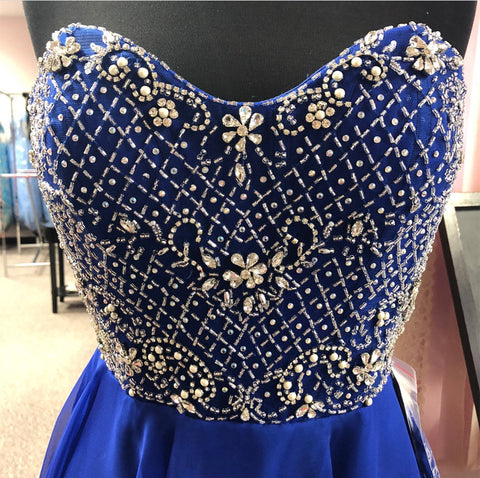 Image of Beaded-Homecoming-Dresses