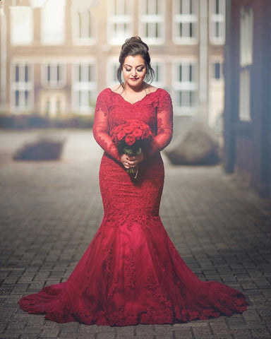 Image of Plus-Size-Evening-Dresses