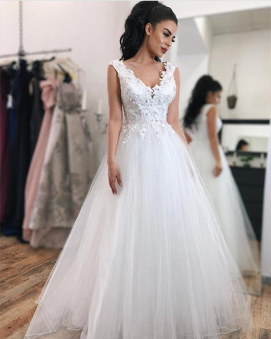Image of White-Prom-Dresses