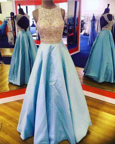 Image of Blue Prom Dresses
