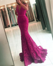 Load image into Gallery viewer, Purple-Prom-Dress