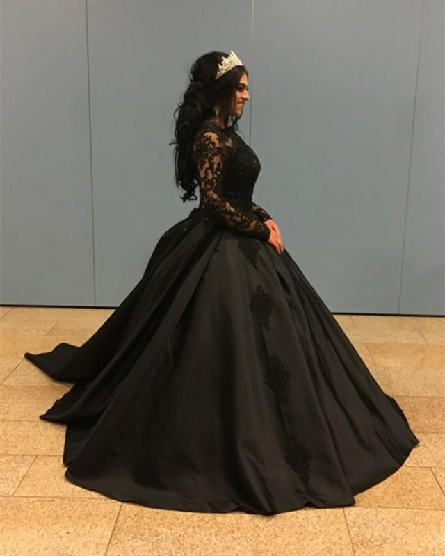 Wedding-Gowns-Black