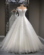 Load image into Gallery viewer, Wedding-Dresses-Lace-Embroidery