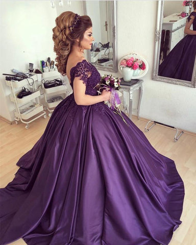 Image of Quinceanera-Dresses-Purple