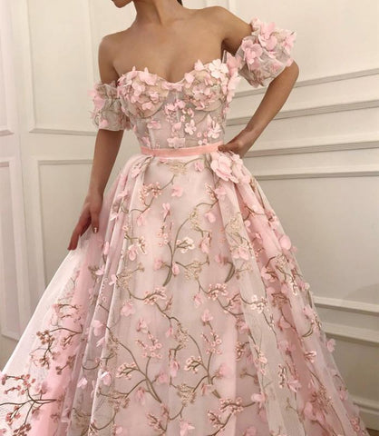 Image of Organza-Prom-Dresses
