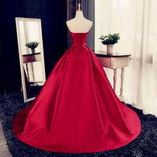 Load image into Gallery viewer, Dark Red Wedding Dresses