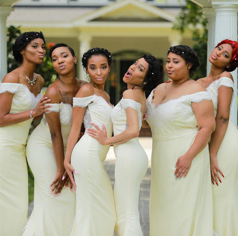 Image of Bridesmaid-Dresses-Yellow