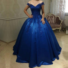 Afbeelding in Gallery-weergave laden, royal-blue-wedding-dresses