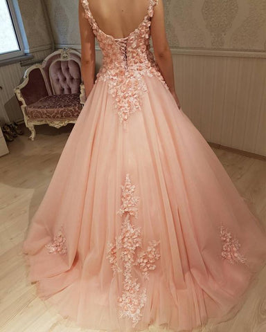 Image of Coral-Ballgowns-Dresses