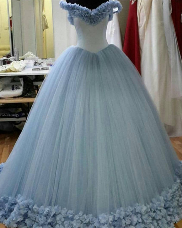 Light-Blue-Quinceanera-Dresses