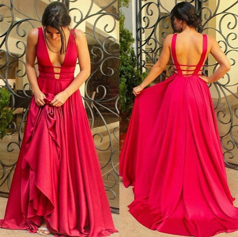 Image of Backless-Bridesmaid-Dresses