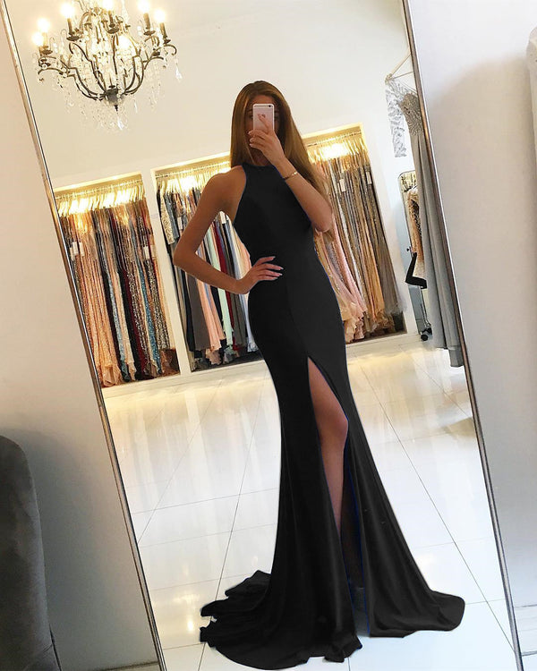 black-mermaid-evening-dresses