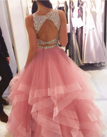 Image of blush-pink-prom-dresses