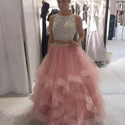 Image of pink-prom-gowns