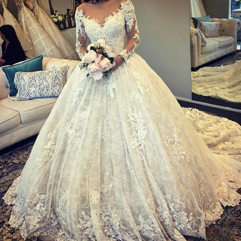 Image of lace-ball-gown-dresses