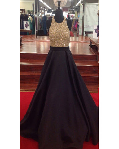 Image of Prom-Dresses-Black