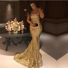 Load image into Gallery viewer, gold-prom-dresses