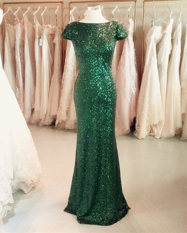 Image of sequin-bridesmaid-gowns