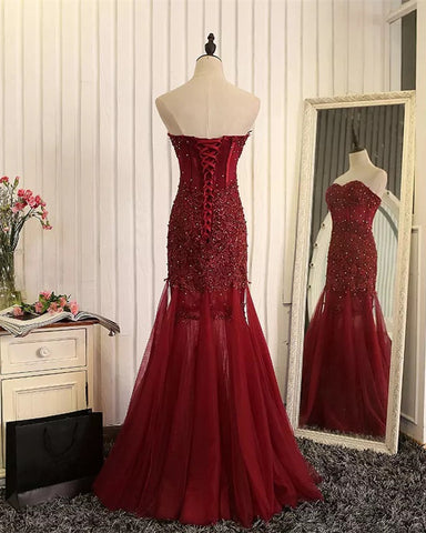 Image of lace-prom-dresses