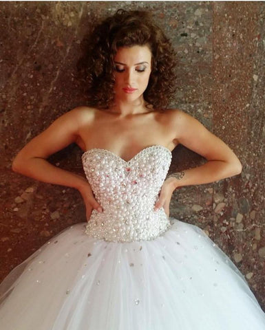 Image of sweetheart-ball-gowns-wedding-dresses