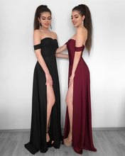 Load image into Gallery viewer, black-bridesmaid-dresses