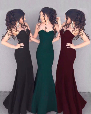 Image of sweetheart-mermaid-evening-dresses