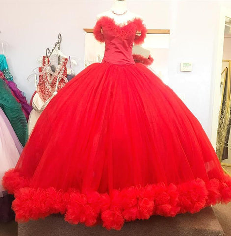 Image of Red-Wedding-gowns